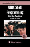 Book Cover UNIX Shell Programming Interview Questions You'll Most Likely Be Asked (Job Interview Questions)