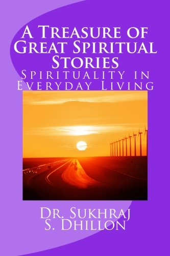 Book Cover A Treasure of Great Spiritual Stories: Spirituality in Everyday Living