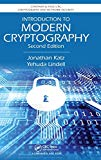 Book Cover Introduction to Modern Cryptography, Second Edition (Chapman & Hall/CRC Cryptography and Network Security Series)