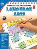 Book Cover Language Arts, Grade 5 (Interactive Notebooks)