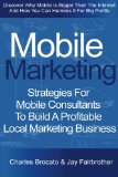 Book Cover Mobile Marketing: Strategies For Mobile Consultants To Build A Profitable Local Marketing Business