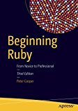 Book Cover Beginning Ruby: From Novice to Professional