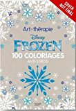 Book Cover Disney Frozen: 100 Images to Inspire Creativity and Relaxation (Art Therapy)