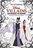 Book Cover Art of Coloring: Disney Villains: 100 Images to Inspire Creativity and Relaxation