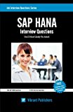 Book Cover SAP HANA Interview Questions You'll Most Likely Be Asked (Job Interview Questions Series)