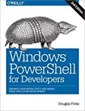 Book Cover Windows PowerShell for Developers