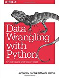 Book Cover Data Wrangling with Python: Tips and Tools to Make Your Life Easier
