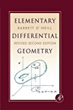 Book Cover Elementary Differential Geometry, Revised 2nd Edition, Second Edition