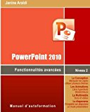 Book Cover PowerPoint 2010 Fonctionnalités avancées (French Edition)