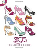 Book Cover Shoes Coloring Book