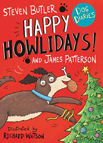 Book Cover Dog Diaries: Happy Howlidays!
