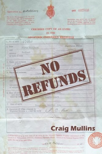 Book Cover No Refunds