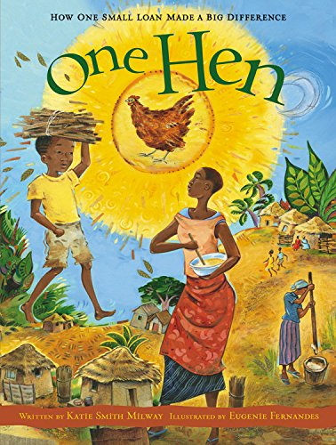 Book Cover One Hen - How One Small Loan Made a Big Difference (CitizenKid)