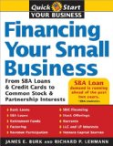 Book Cover Financing Your Small Business: From SBA Loans and Credit Cards to Common Stock and Partnership Interests (Quick Start Your Business)