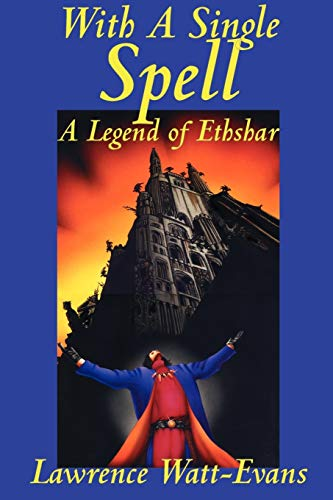 Book Cover With A Single Spell