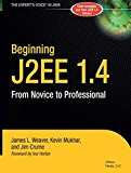 Book Cover Beginning J2EE 1.4: From Novice to Professional (Apress Beginner Series)