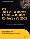 Book Cover Pro .NET 2.0 Windows Forms and Custom Controls in VB 2005