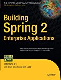 Book Cover Building Spring 2 Enterprise Applications