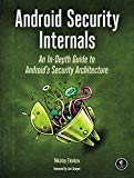 Book Cover Android Security Internals: An In-Depth Guide to Android's Security Architecture