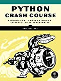 Book Cover Python Crash Course: A Hands-On, Project-Based Introduction to Programming
