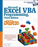 Book Cover Microsoft Excel VBA Programming for the Absolute Beginner