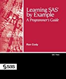 Book Cover Learning SAS by Example: A Programmer's Guide