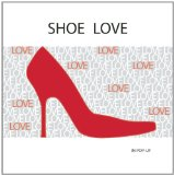 Book Cover Shoe Love: In Pop-Up