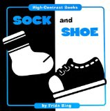 Book Cover Sock and Shoe (High Contrast Books)