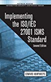 Book Cover Implementing the ISO/IEC 27001 ISMS Standard