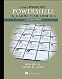 Book Cover Learn Windows PowerShell in a Month of Lunches