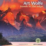 Book Cover Art Wolfe 2016 Wall Calendar: Travels to the Edge
