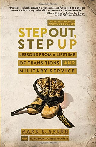 BOOK STEP OUT STEP UP BY  MARK GREEN