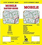 Book Cover Mobile, Alabama Street Map
