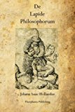 Book Cover De  Lapide  Philosophorum: The Philosopher's Stone