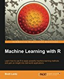 Book Cover Machine Learning with R
