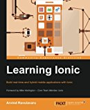 Book Cover Learning Ionic - Build Hybrid Mobile Applications with HTML5