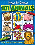 Book Cover How to Draw 101 Animals