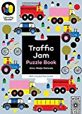 Book Cover Traffic Jam: Puzzle Book - With a 6 piece floor puzzle! (The Learning Garden)