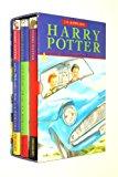 Book Cover The Harry Potter trilogy: Philosophers Stone; Chamber of Secrets; Prisoner of Azkaban