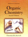 Book Cover Solutions to Exercises, Organic Chemistry, Second Edition