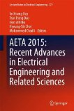 Book Cover AETA 2015: Recent Advances in Electrical Engineering and Related Sciences (Lecture Notes in Electrical Engineering)