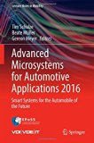 Book Cover Advanced Microsystems for Automotive Applications 2016: Smart Systems for the Automobile of the Future (Lecture Notes in Mobility)