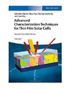 Book Cover Advanced Characterization Techniques for Thin Film Solar Cells