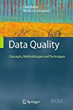 Book Cover Data Quality: Concepts, Methodologies and Techniques (Data-Centric Systems and Applications)