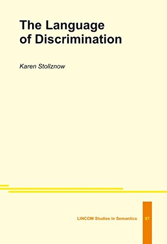 language discrimination Definition of discrimination written for english language learners from the merriam-webster learner's dictionary with audio pronunciations, usage examples, and count.