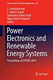 Book Cover Power Electronics and Renewable Energy Systems: Proceedings of ICPERES 2014 (Lecture Notes in Electrical Engineering)
