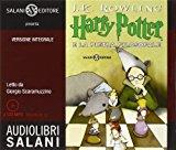 Book Cover Harry Potter e la pietra filosofale. Audiolibro. 2 CD Audio formato MP3 (Audiolibri) : Italian edition of Harry Potter and the Philosopher's Stone