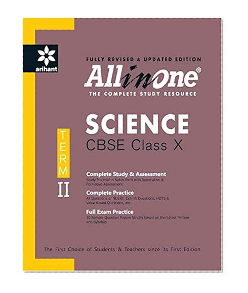 Book Cover All in One Science CBSE Class 10th Term-II