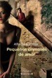 Book Cover Pequeños Crímenes de Amor (Spanish Edition)