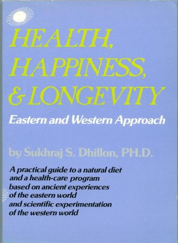 Book Cover HEALTH, HAPPINESS & LONGEVITY (